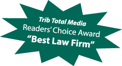 Covelli Law Offices voted Best Law Firm by readers of Trib Total Media